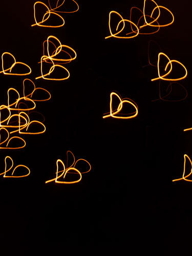 Candle-light-hearts
