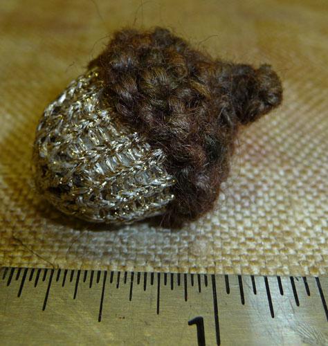Gold-acorn-size