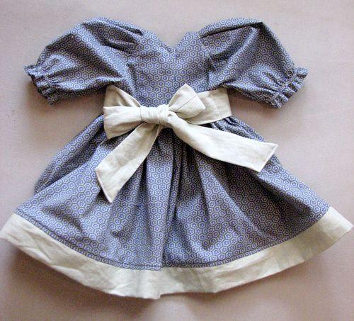 Clothes-Dress-grey-back