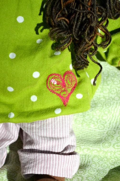Charlene-30cm-clothing-detail