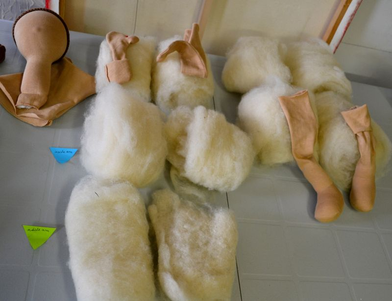 Doll-arm-leg-stuffing