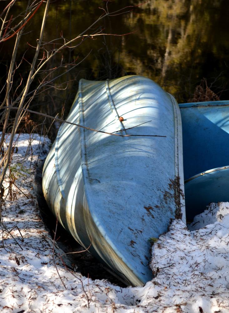 Canoe-wintersleep