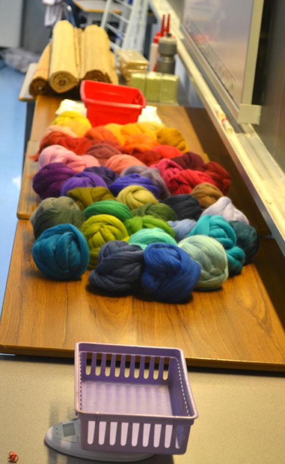 Set-up-wool